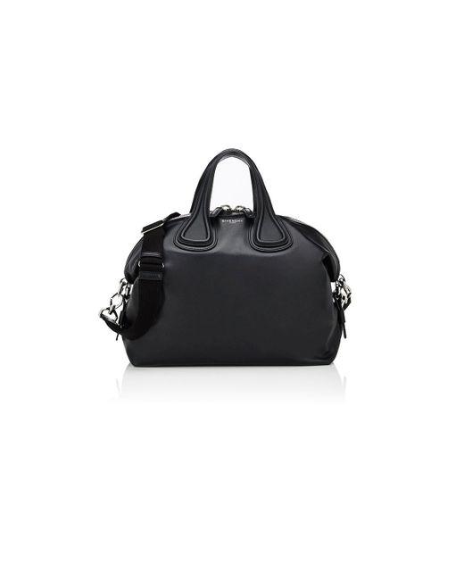 Givenchy - Black Nightingale Medium Satchel - Lyst