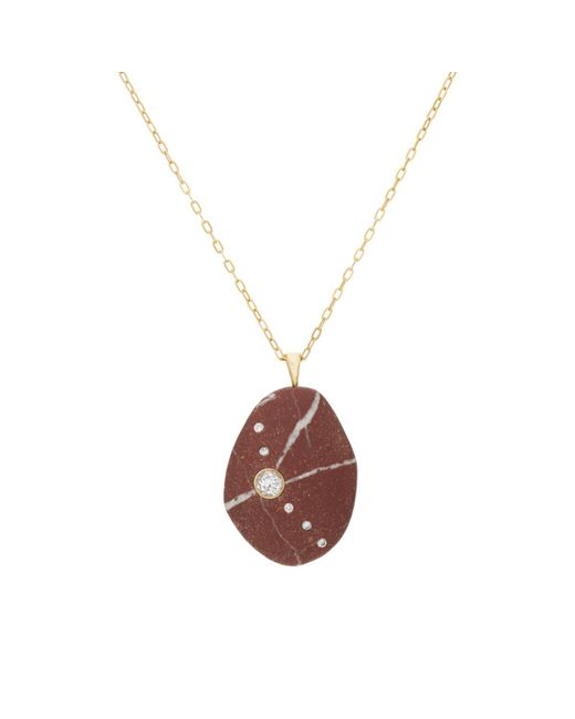 Cvc Stones | Red Suriyah Necklace | Lyst