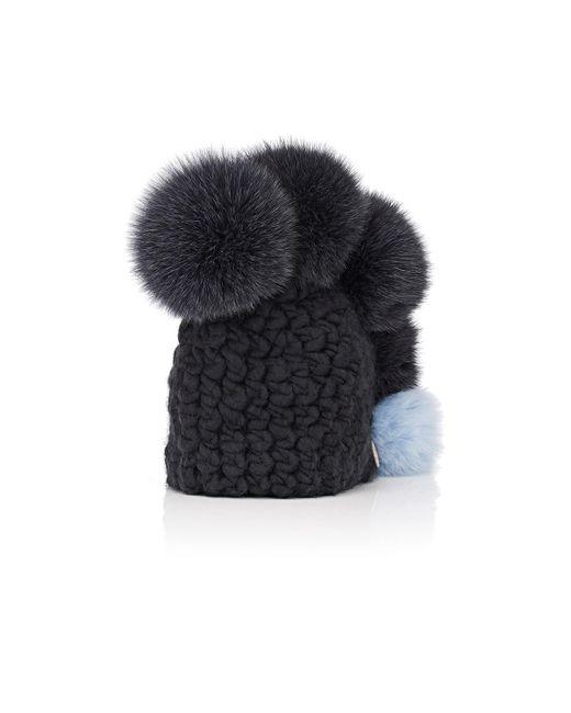 Mischa Lampert - Gray Pohawk Merino Wool Beanie - Lyst