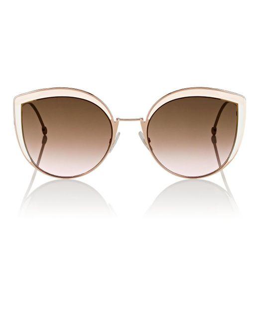 Fendi - Pink Ff 0290 Sunglasses - Lyst