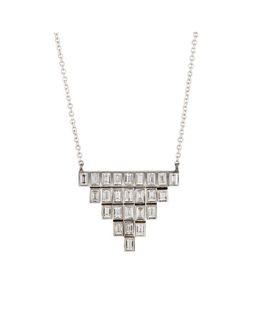 Ileana Makri | Metallic Pyramid Necklace | Lyst