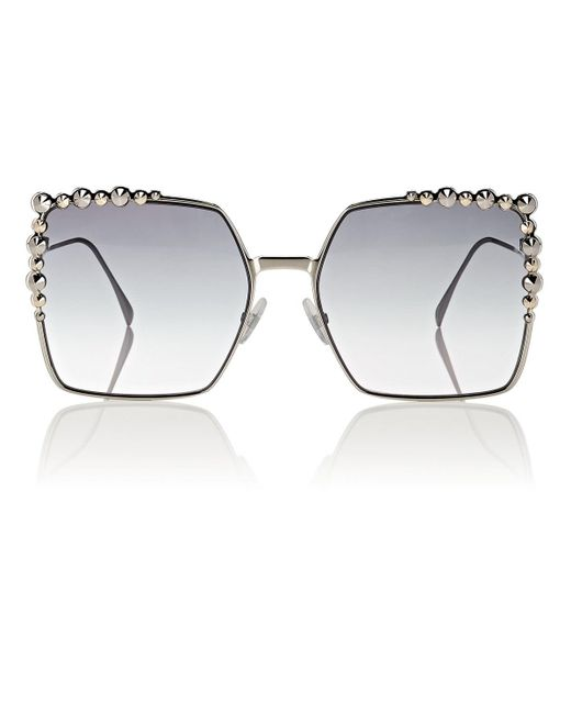 Fendi - Metallic Ff0259/s Sunglasses - Lyst