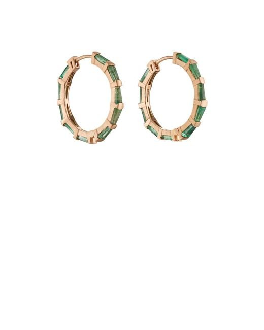 Nak Armstrong - Metallic Hilvanado Stitch Hoop Earrings - Lyst