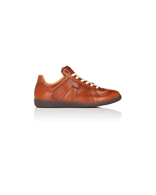 Maison Margiela - Brown Replica Sneakers for Men - Lyst