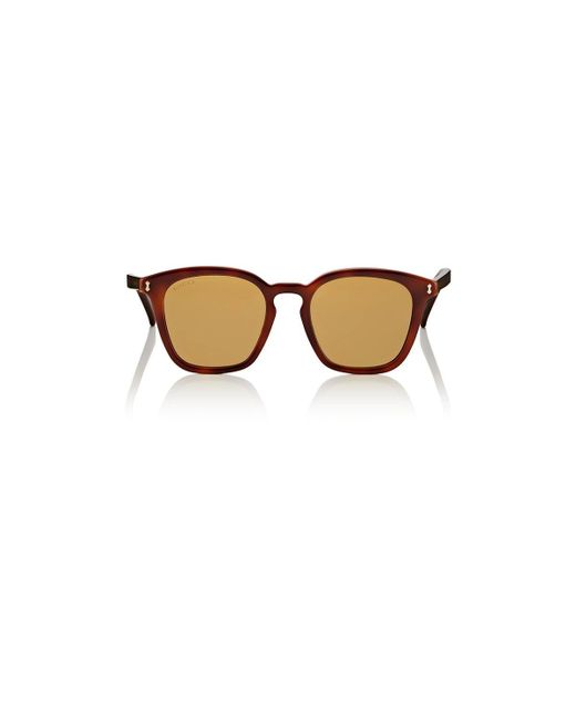 d0471ba0c2a Gucci - Brown GG0125S Sunglasses for Men - Lyst ...