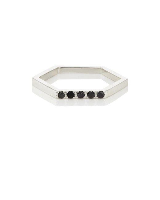 Loren Stewart - Metallic Onyx Hexagon Ring for Men - Lyst