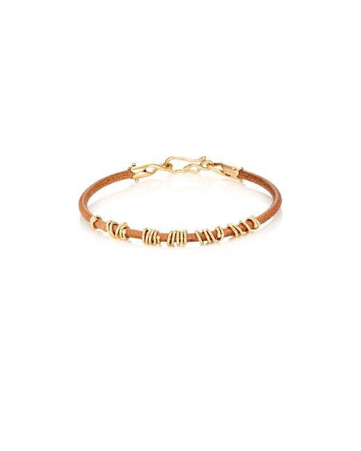 Dean Harris - Yellow jump Ring Bracelet for Men - Lyst