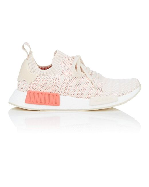 on sale d7931 df1ac Women's Pink Nmd R1 Stlt Primeknit Trainers Size 6.5