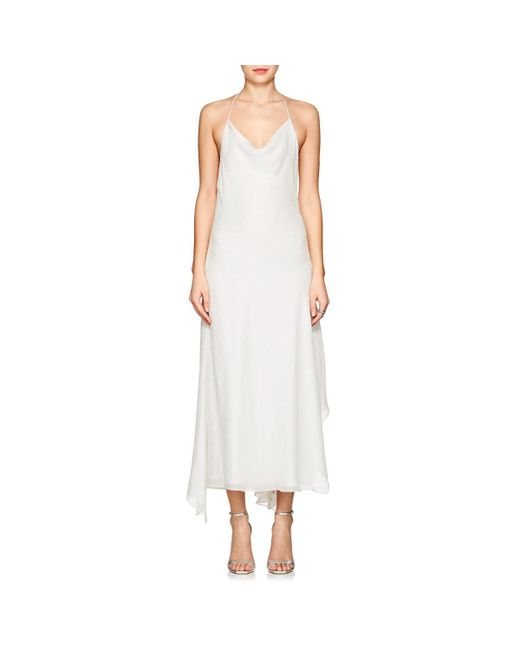 ab567c36e980 Juan Carlos Obando Fil Coupé Voile Gown in White - Save 77% - Lyst