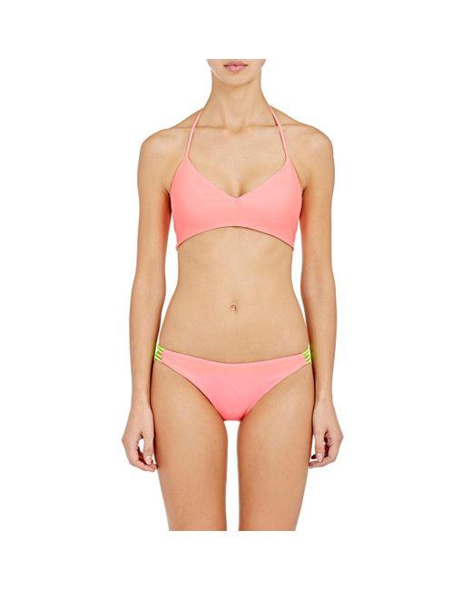 Basta Surf | Pink Zunzal Bikini Top | Lyst