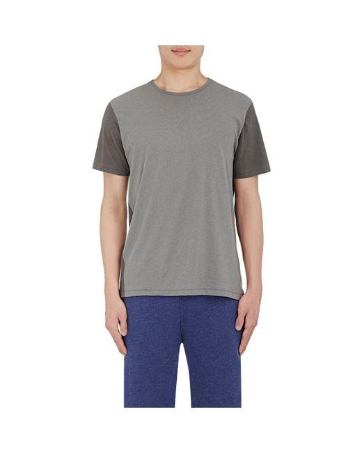 Rag Bone Colorblocked T Shirt In Gray For Men Lyst