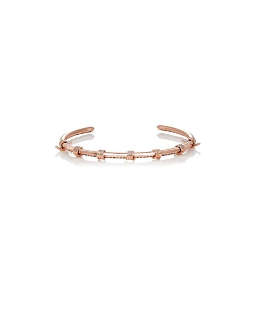 Fallon | Pink Barbed Wire Choker | Lyst
