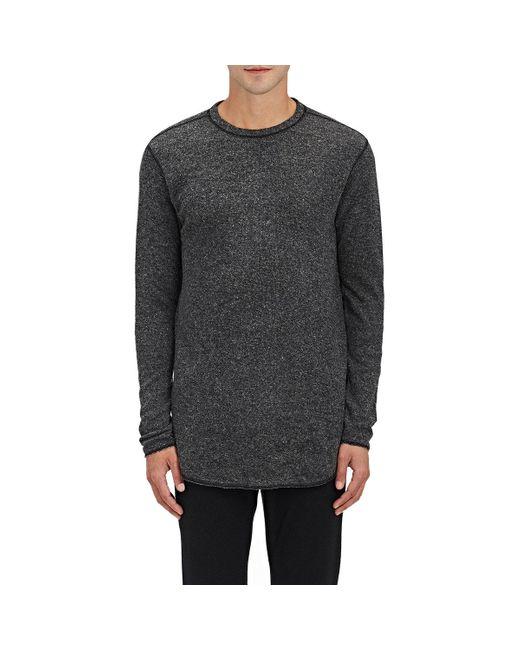 NLST | Gray Heathered Knit Sweatshirt for Men | Lyst