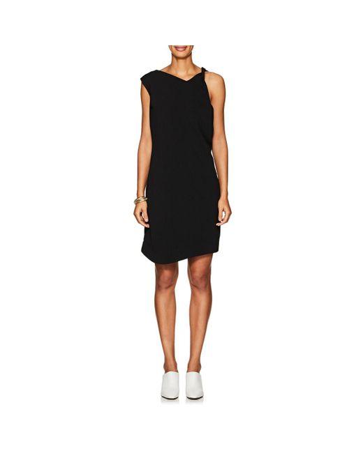 Nomia - Black Cady Sleeveless Shift Dress - Lyst