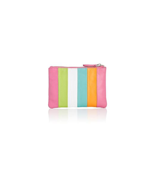 Barneys New York | Pink Small Zip Pouch | Lyst