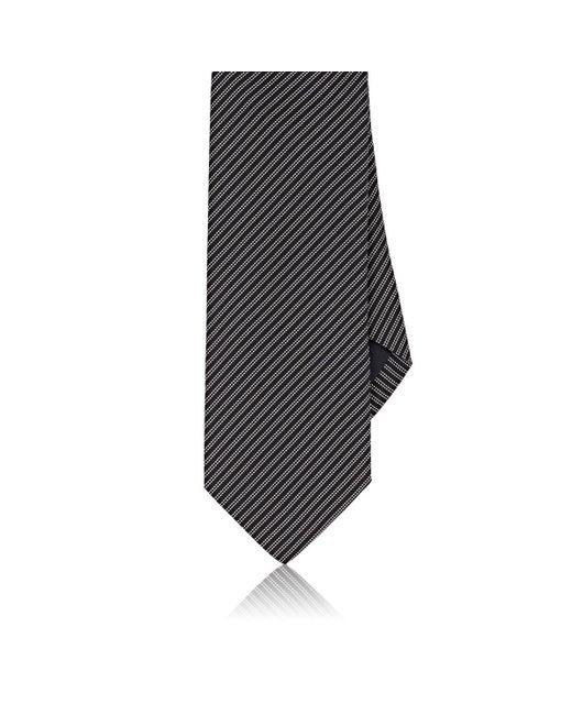 Drake's   Blue Pinstriped Silk Necktie for Men   Lyst