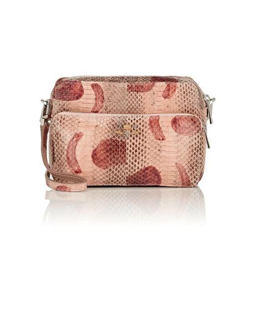 Zadig & Voltaire - Brown Python Camera Bag - Lyst
