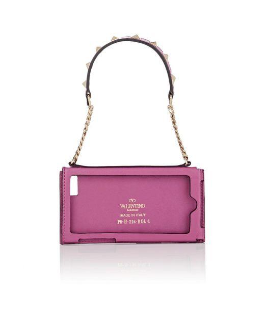 Valentino Purple Rockstud Iphone® 5 Case