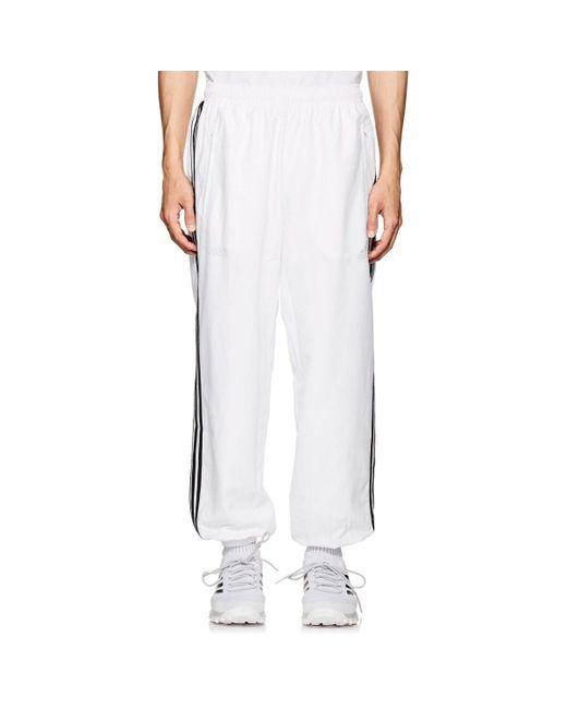Gosha Rubchinskiy White Logo Track Pants for men