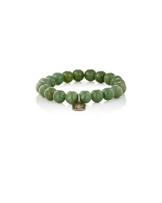 Miracle Icons | Green Beaded Charm Bracelet | Lyst