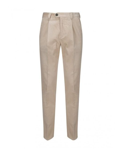 Brunello Cucinelli Natural Pants - Mens - Brown/beige for men