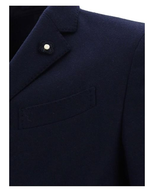 Lardini Jacket - Mens - Blue / Light Blue for men