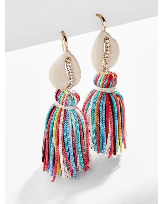 BaubleBar - Multicolor Tahiti Tassel Earrings - Lyst