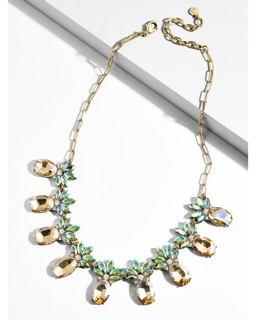 BaubleBar - Multicolor Piña Statement Necklace - Lyst