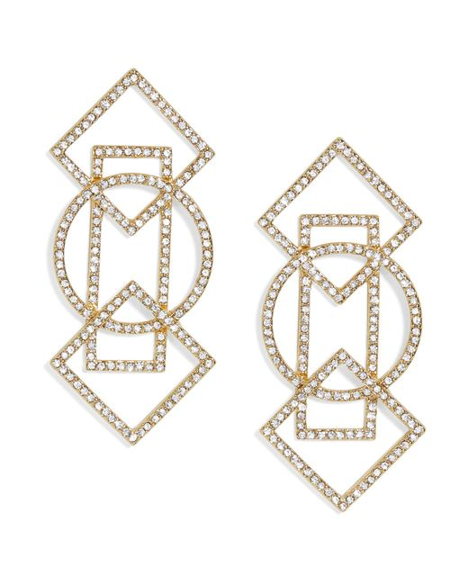 BaubleBar - Multicolor Geometric Drop Earrings - Lyst