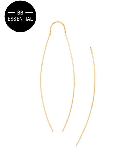 BaubleBar | Metallic Slim Bow Drops | Lyst
