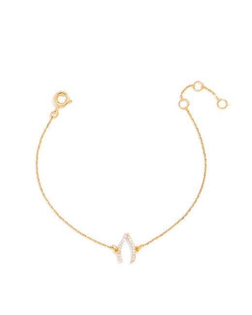 BaubleBar | Metallic Ice Wishbone Bracelet | Lyst