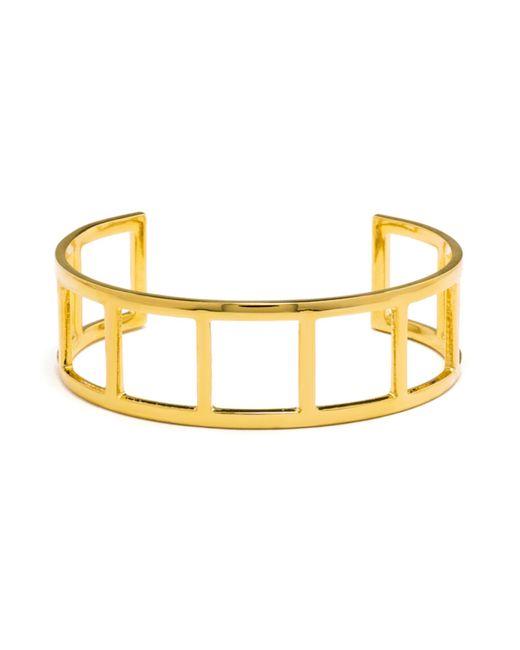 BaubleBar | Metallic Gold Ladder Cuff | Lyst