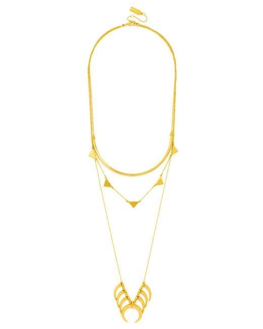 BaubleBar | Metallic Native Tiered Necklace | Lyst