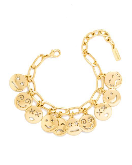 BaubleBar | Metallic Smiley Bracelet | Lyst
