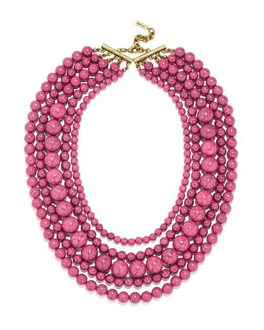 BaubleBar | Pink Globe Strands | Lyst