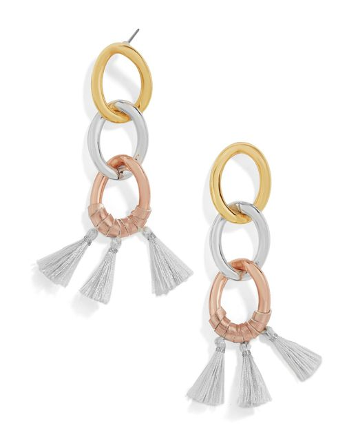 BaubleBar | Multicolor Fortuna Chain-link Earrings | Lyst