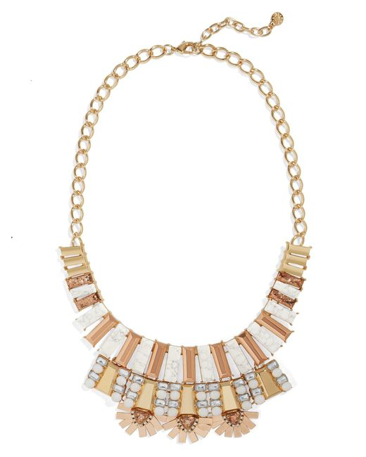 BaubleBar | Multicolor Caralyn Statement Necklace | Lyst