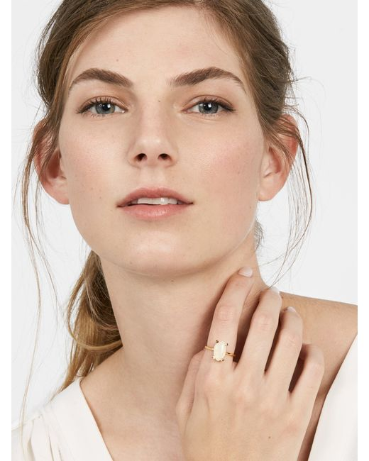 BaubleBar | White Remia Ring | Lyst