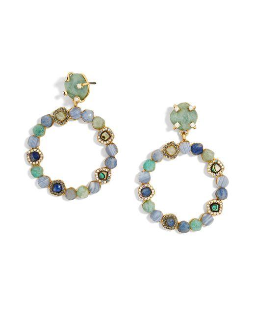 BaubleBar | Multicolor Lavina Hoop Earrings | Lyst