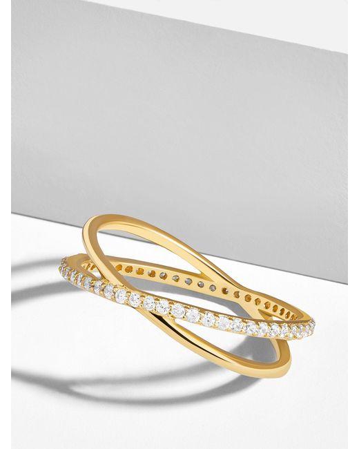 BaubleBar - Multicolor Voglia 18k Gold Plated Ring - Lyst