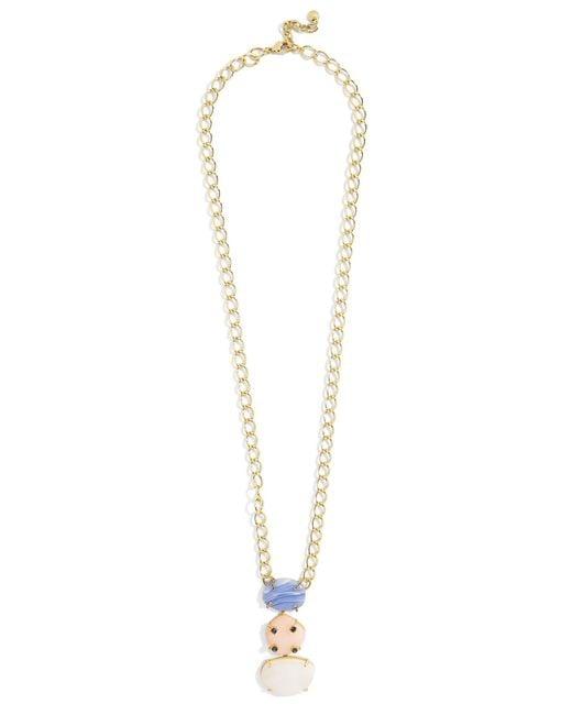 BaubleBar | Multicolor Karmah Pendant Necklace | Lyst