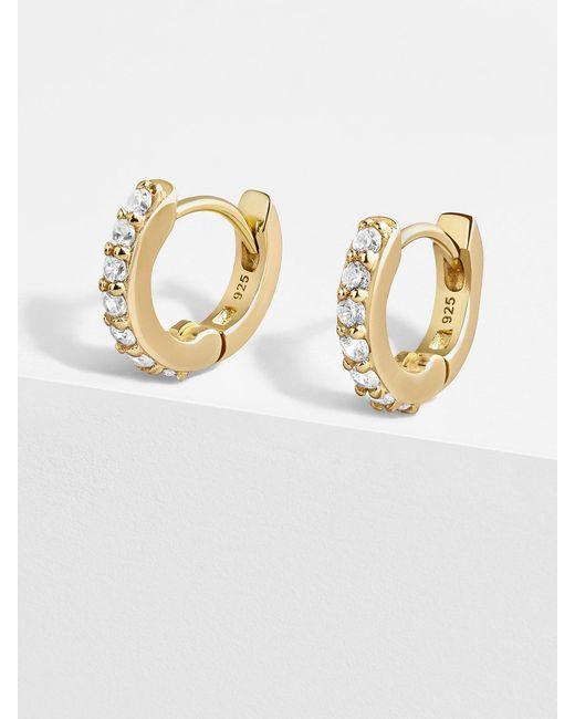 BaubleBar Multicolor Sirena 18k Gold Vermeil Huggie Hoops Earrings