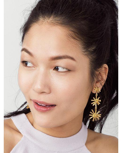 BaubleBar | Metallic Morningstar Drop Earrings | Lyst