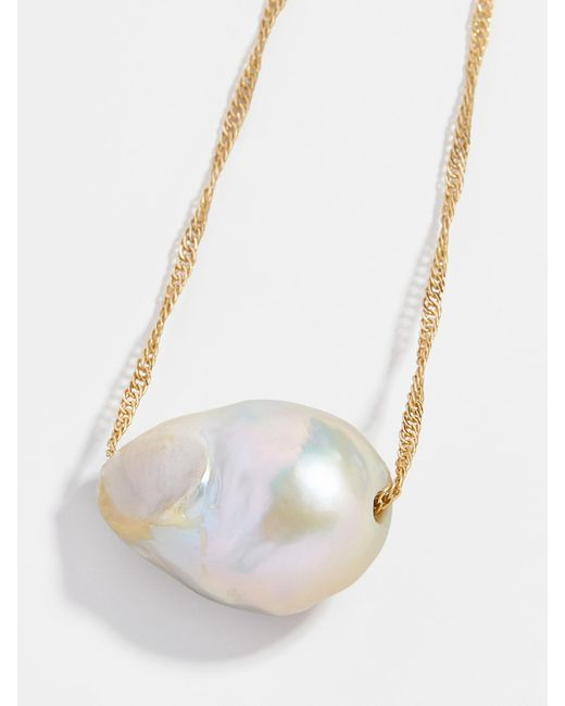 BaubleBar Multicolor Aprille Pearl Pendant Necklace