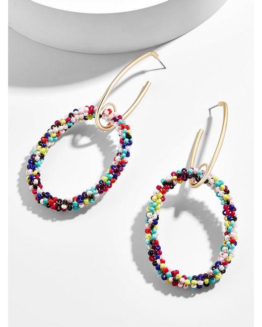 BaubleBar - Multicolor Marina Hoop Earrings - Lyst