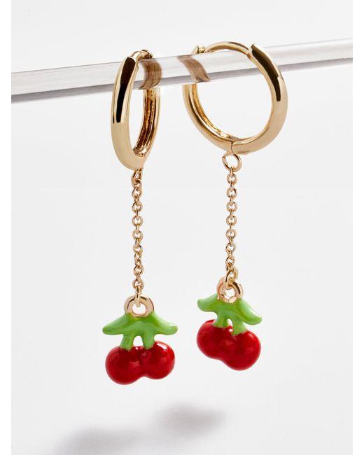BaubleBar - Multicolor Cherry Chain Link Drop Earrings - Lyst