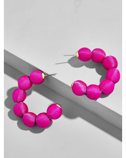 BaubleBar | Multicolor Crisana Hoop Earrings | Lyst
