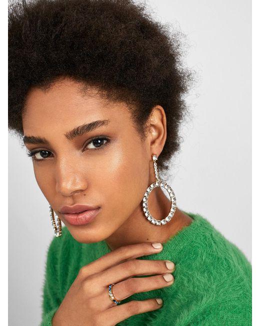 BaubleBar - Multicolor Angelyn Hoop Earrings - Lyst
