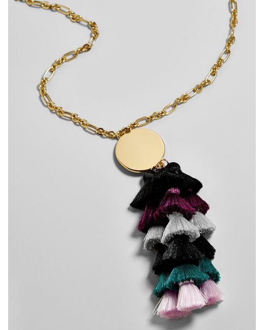 BaubleBar | Multicolor Rima Tassel Necklace | Lyst