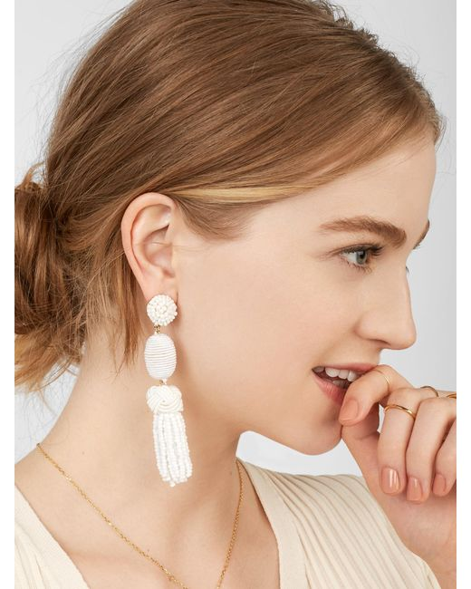 BaubleBar - Multicolor Sandriana Drop Earrings - Lyst